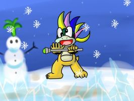 Lemmy Koopa's Winter craze by lucario-sensei