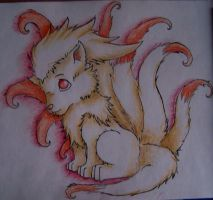 ninetails by Drrrakonis