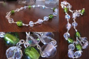 Springtime Shimmer Necklace by madewithloveL