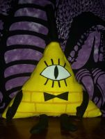 Bill Cipher Plush by Zielvos