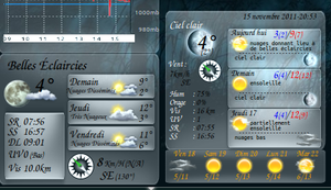 conky accuweather by shamen456