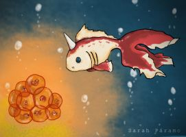 : Goldeen : by SarahBob