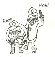 Duncan and Wynchel by ravenheart628