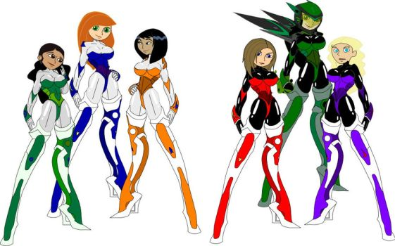 Old Work, KP supersuits by dvdIce