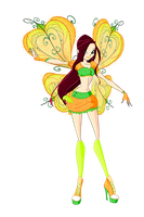 Winx: Laurel Believix by DragonShinyFlame