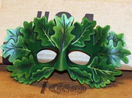 Green Man Mask by Lady-Cass