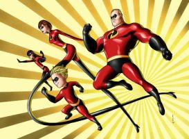 Incredibles by therealARTURO