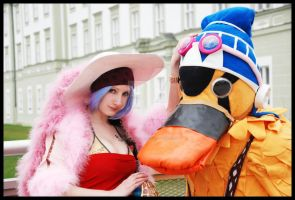 Vivi x Carue One Piece Cosplay by Jibril-Cosplay