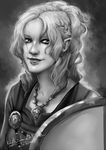 .LoF: The Shieldmaiden. by Kalyith