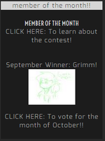 September Member of the Month!! by Everything--Roleplay