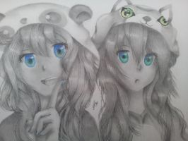 Anime sisters by rockgirl133