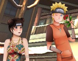 NaruTen: Hi there, Beautiful by JuPMod