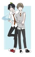 Sirius and Remus by 2lazy4U