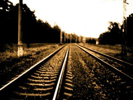 Railway Track by megadef