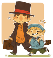 Professor Layton by jamknight