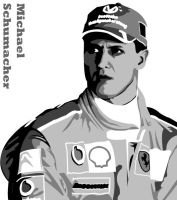 Michael Schumacher by brandoonwa