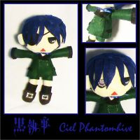 Ciel Plush by red-X-snow