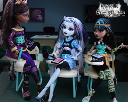 Ghoul School by KittRen