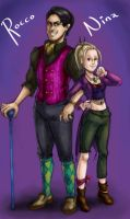 WotS - Colourful Couple by Card-Queen