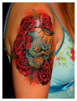 day of the dead by TonyGoeke