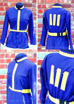 Fallout Jumpsuit Vault 111 Costume by MyBeautifulMonsters