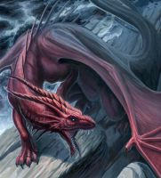 Red Dragon by hibbary