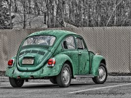 green bug by wroquephotography