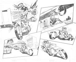 Station 39 Moto madness by thepenciler