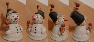 snowman by two-ladies-stocks