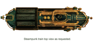 Steampunk Train 03 PNG Stock by Jumpfer-Stock