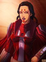 SWTOR Chalactan Sith Lady by suppa-rider by Aliens-of-Star-Wars