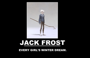 Jack Frost Demotivational Poster by thekirbykrisis