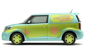 Scion xB Mystery Machine by bobtheowl001
