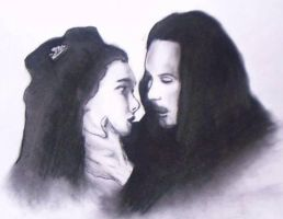 Dracula and Mina by xxx-ThePhantom-xxx