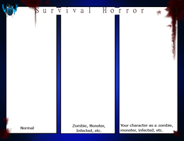 DA: Survival Horror Meme by Chibi-15