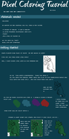 PIXEL COLORING TUTORIAL by ECHO-SUCKA-FISH