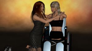 Vicky and Susan by discoandrea