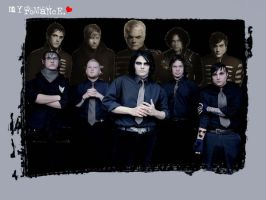 My Chemical Romance Wallpaper by x-michelle