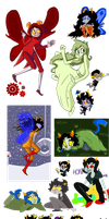 Homestuck dump by Rocketeerio