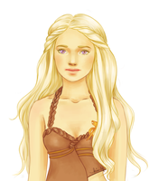 Khaleesi by kimpertinent