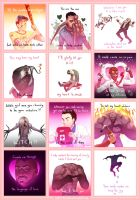 Left 4 Dead Valentine Notes by lydia-the-hobo