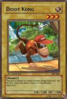 SSBB-Diddy Kong Card by Cazamanga