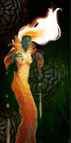 Witch muse of fire by laura-csajagi
