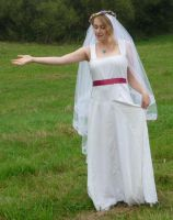 bride on a field 15 by indeed-stock