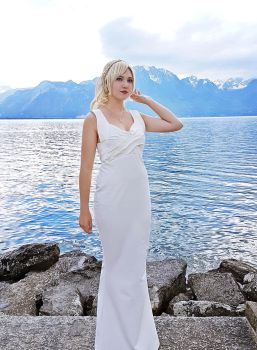 Final fantasy XV - Lunafreya cosplay by Firmily