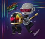 Daft Punk by keitenstudio