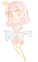 Chibi Princess Doodle by PrincessThighs