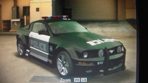 NFSU-Ford Mustang (police) by TheBandicootBrony