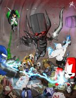 Castle Crashers by ShadowChild71
