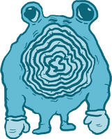 #061 - Poliwhirl by Padzee